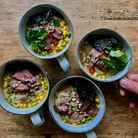 Lisa Cowling's quick and easy noodle soup recipe