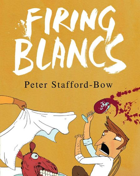 Firing Blancs by Peter Stafford-Bow is endorsed by Kensal Rise author and broadcaster Tim Lott. Pict