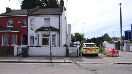 A house turned cannabis factory in Woodheyes Road. Picture: David Nathan