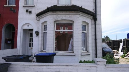 A house turned cannabis factory in Woodheyes Road, Neasden. Picture: David Nathan