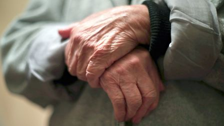 File photo of the hands of an elderly woman. Picture: Yui Mok/ PA Images
