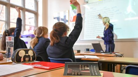 A stock image of students in a classroom. Picture: PA/Ben Birchall