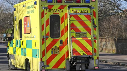 Stock image of ambulance. Picture: Steve Parsons/ PA