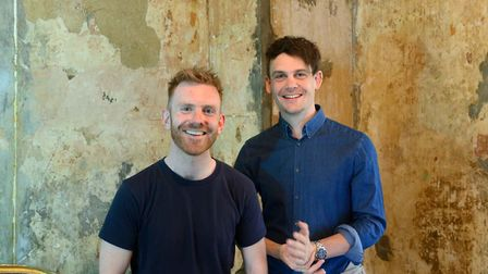 Clem Garrity and Ollie Jones co-founders of Swamp Motel who have created an online experience Plymou