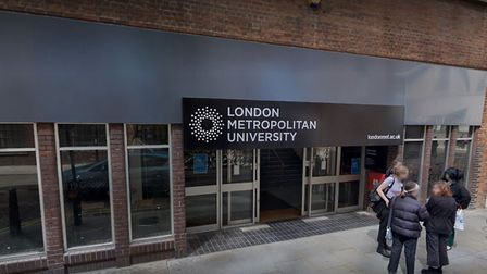 London Met's newly named School of Art, Architecture and Design. Picture: Google Maps
