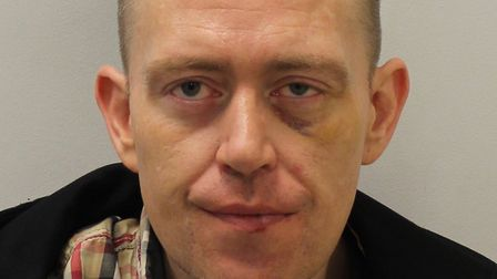 Andrew McEndoo jailed for spitting at police officers saying he had Covid-19. Picture: Met Police