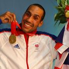 Great Britain's James Degale with his gold medal after beating Cuba's Emilio Correa Bayeaux in the m