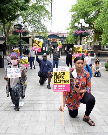 Stand Up To Racism held a demonstration outside Islington Town Hall on Wednesday, June 3 in response