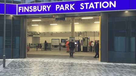 Operation Perch was relaunched outside Finsbury Park station. Picture TfL