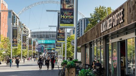 Olympic Way's outdoor seating will double from July 4. Picture:Chris Winter / Quintain