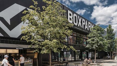 Boxpark Wembley reopening in Wembley Park after covid lockdown. Picture: Quintain