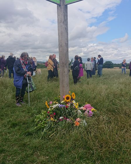 A Remembrance Service was held for Bibaa Henry and Nicole Smallman murdered in Fryent Country Park.