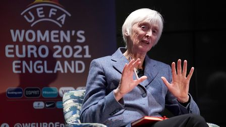 Director of women's football at the FA, Baroness Sue Campbell during the UEFA Women's Euro 2021 500