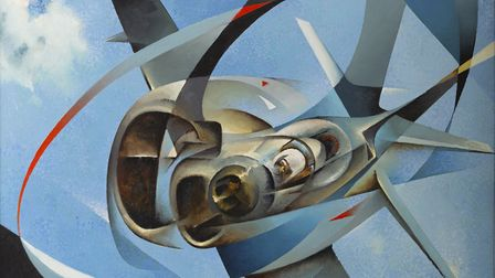 Works by futurist Tullio Crali will be on display when the Estorick Collection in Canonbury reopens