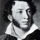 Portrait of Alexander Pushkin (1799-1837) a Russian poet, playwright, and novelist. Dated 19th Centu
