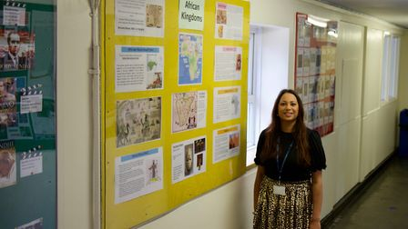 Shalina Patel, history teacher at Claremont. Picture: Claremont High School