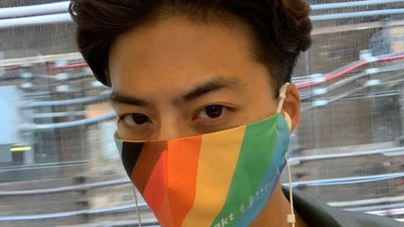 Pride themed face coverings have gone on sale to support the Albert Kennedy Trust
