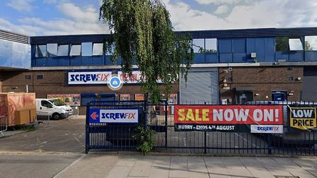 Screwfix in Brewery Road. Picture: Google