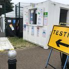 Harlesden covid testing site. Picture: Brent Council
