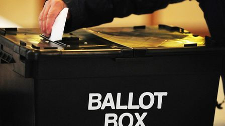 Stock image of person voting. Picture: Rui Vieira/PA Archive/PA Images