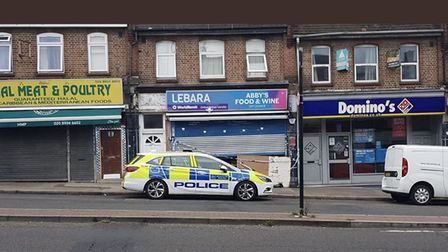 Man was stabbed in Preston Road. Picture: @999London