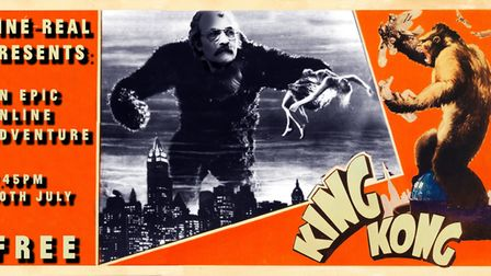 Cine Real podcast on King Kong features Hackney film enthusiast Umit and Liam from Umit and Son