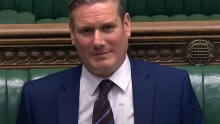 Keir Starmer, who asked Boris Johnson in the House of Commons what message he would like to send to