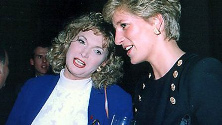 Fay Presto has performed for the Royal family, including Princess Diana. Picture: Fay Presto