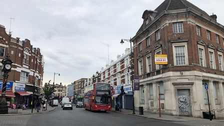 The Refugee Support Network has won funding to revamp former bank in Harlesden. Picture: AHF