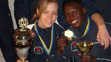Haringey boxers celebrate success at the Angered Cup in 2007