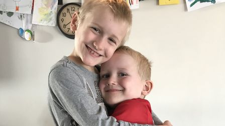 William and Cameron Brodie, St Mary Magadelene Academy Primary School.