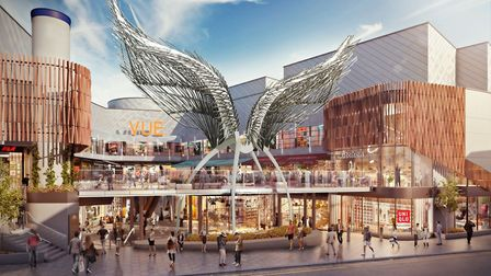 Computer-generated images of the refurbished Angel Central. Picture: Angel Central