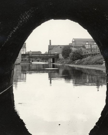 Thornhill Bridge from Islington Tunnel, 1973. Picture: Islington Local History Centre