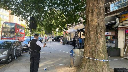 Police responded to a fight in Kilburn but group had fled. Picture: David Nathan