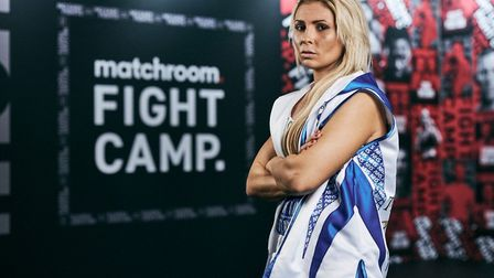Shannon Courtenay ahead of her fight with Rachel Ball (Pic: Mark Robinson/Matchroom Boxing)