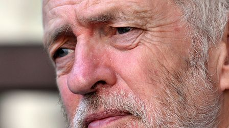 Leader of the Labour Party Jeremy Corbyn who has used his new year message to accuse Theresa May's g
