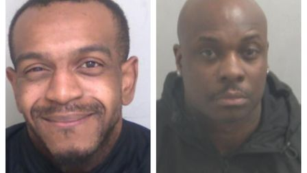 James Willoughby and Mac Cheremeh. Picture: Essex Police