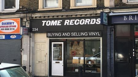 Tome Records when it opened in Graham Road. Picture: Sam Gelder