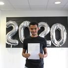 Ismail Abbas scored nine 9s, an 8, and A in additional maths for his GCSEs. Picture: Ark Academy Wem