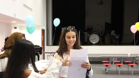 Adela Hoxha's high GCSE grades set her up for sixth form. Picture: Ark Academy Wembley