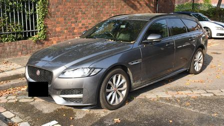 Image of Jaguar released as police continue to investigating a fatal shooting in South Kilburn. Pict