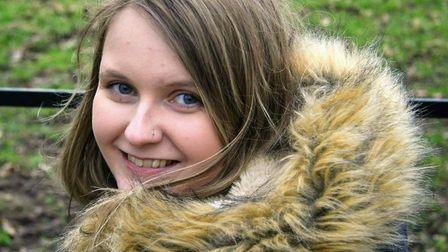 Jaz is hoping to fundraise for a new wheelchair. Picture: Alex Cranston