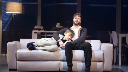 Jack Reynolds and Jay McGuinness in Sleepless, A Romantic Musical. Picture: Alastair Muir