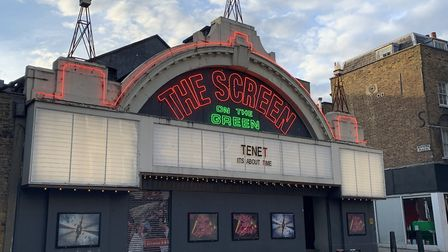 Screen on the Green reopened after lockdown with showings of Christopher Nolan's chronologically pla