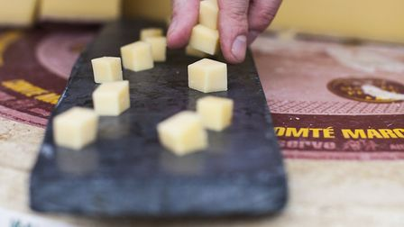 The Borough Cheese Co will have a stall at the new Islington Square market. Picture:Leonardo Tomma