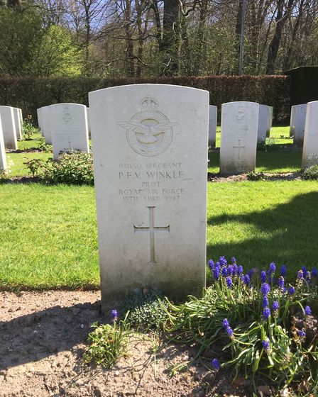 Sgt Winkle's Reichswald Forest War Cementry. Picture: Submitted by Christoph Heyes