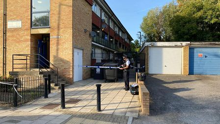 A man was fatally stabbed in a block of flats in Wembley. Picture: David Nathan