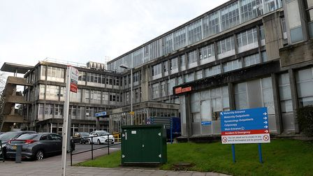 Northwick Park Hospital has dealt with more than 2,000 covid cases in six months. Picture: PA/Anthon