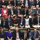 Tory MPs in the House of Commons