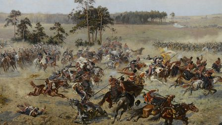 The Panorama of Raclawice (1893-4) depicting a famous Polish uprising. Photo: Getty